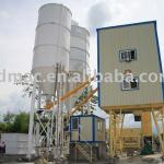 Stationary batching mixer-
