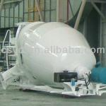manganese alloy steel concrete mixer drum/cement drum-