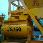 super quality dural horizontal JS 750 concrete mixer-