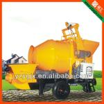 2013 hot sale electric concrete mixer with pump price