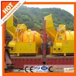 New design JZR500 diesel engine concrete mixer with high efficiency