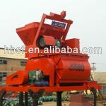 500L Electric Double Axle/Shaft Cement Mixer-