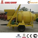 18-20m3/h Mobile Concrete Mixer-
