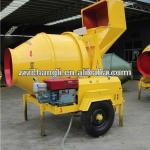 HOT selling JZC350 used diesel concrete mixer for Africa Market-