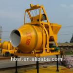 350L 4.5kw electric portable turbo concrete mixer