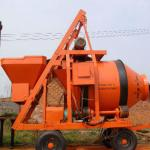 44 years manufacture 750L 25M3/h concrete mixer truck with pump,manual concrete mixer machine-