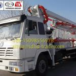 24m Mini Concrete Boom Pump Truck ISO9001&BV Approved-