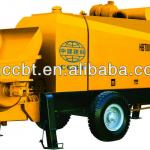 small trailer stationary concrete pumping machine with diesel engine-