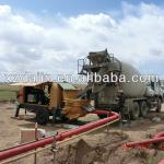 concrete pumps-