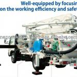 japan concrete pump machine-