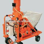35L/min Portable concrete pump and spray machine/electronic plastering machine-