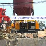stationary mortar concrete pump with diesel engine HBT35.10.62RS-