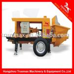 TM15Q Stationary trailer concrete pump (electric motor)-