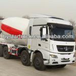 Concrete mixer truck 8X4 31ton 340hp north benz-