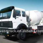 North Benz 8m3 concrete mixer truck-
