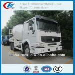 Sinotuck HOWO 10m3 concrete mixer truck made in china for sale-