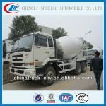 8-10cbm nissan concrete truck japanese brand for hot sales-