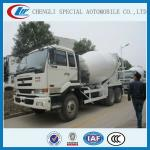 8-12cbm nissan concrete truck japanese brand for hot sales-