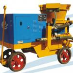 durable dry type shotcrete machine pz-9