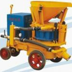 practical PZ-6 dry shotcrete machine
