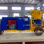 Diesel driven Dry-mix concrete gunite machine-