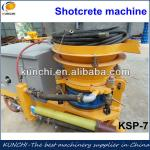 Good quality dry and wet type shotcrete machine with best price