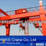 Overseas installation avaliable MG type double girder gantry crane-