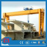 Top design mobile double girder gantry crane-