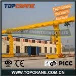 Container Single Girder Gantry Crane With Trolley 100 ton-