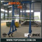 2013 Newest Simple Mobile Gantry Crane With High Quality and Best Price-