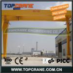 80/10Ton Double beam Gantry crane with hoist/trolley/winch for sale-