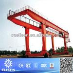 50 ton Double Girder rail gantry crane With Certificate-