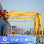 Heavy duty electric semi gantry crane goliath crane-