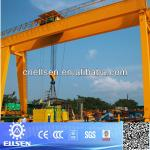 20 ton rubber tyre double girder gantry crane for sale-