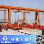 Electric single girder gantry crane-