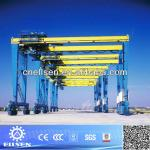 Mobile Rubber tyre Gantry Cranes for pile containers-