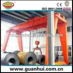 steel mill plant workshop double bridge gantry crane-