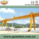 double girder concrete yard gantry crane lifter-