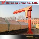 Ground mounted jib arm crane for sale-