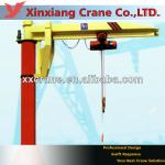 2 ton electric hoist gib crane-