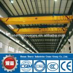 Low Clearance 5T, 10.5~31.5m Span,16m Lifting Height CE European Style Double Beam Over Head Crane, Customized Crane Available-