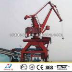 Marine Portal Crane for Dock and Shipyard jib portal crane-