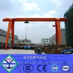 10T MH Model Electric Hoist Single Girder Gantry Crane(portal crane)-