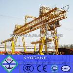 Electric motor outdoor yard port cantilever gantry crane 20/5ton-