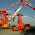 Heavy duty portal crane with grab/hook for seaport 40T