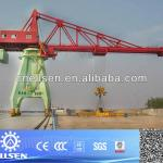 Best quality multifunctional portal crane with grab/hook