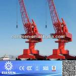 Single jib port equipment