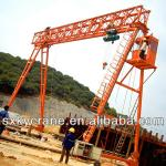 High Quality16 T MH Model Electric Hoist Girder Gantry Crane (portal crane)