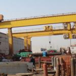 L Model mobile gantry crane with cantilever