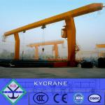 L model Electric Single Girder Motor Gantry Crane 10ton